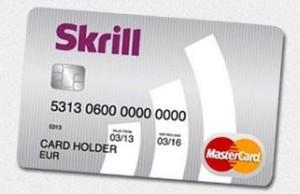 Card voor casino betaling