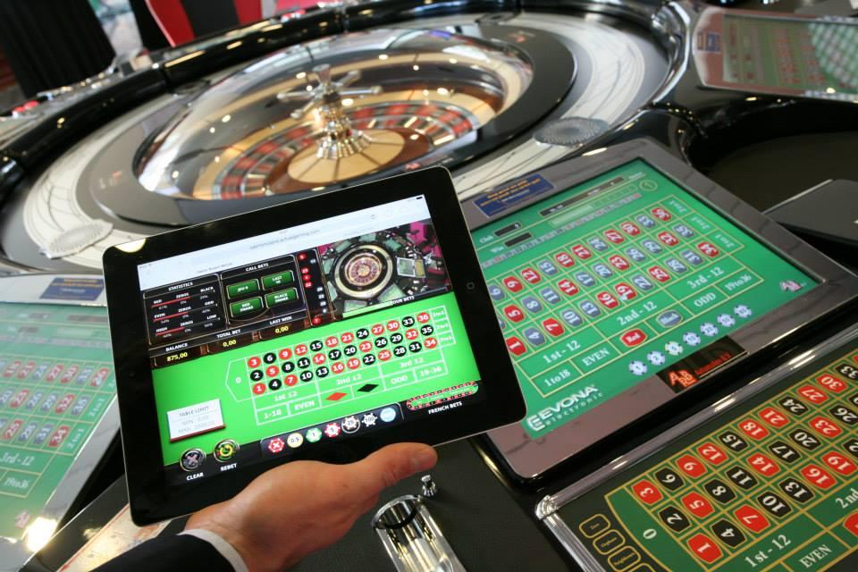 Tablet live casino