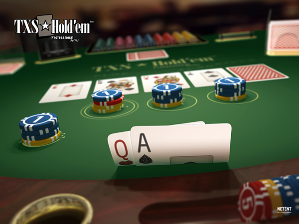 Live casino Hold'em online poker